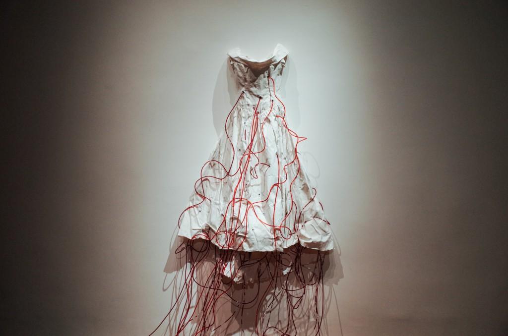 Chiharu Shiota, Dialogue With Absence, 2010/2014, installation, photo by Paweł Eibel