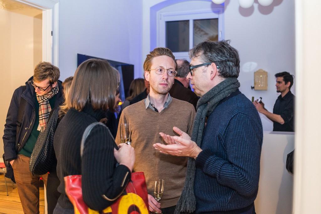 Daniel Böhm (arte), Nicole Büsing(Kunstjournalistin), Marcus Woeller (Die Welt), Heiko Klaas (Kunstjournalist)