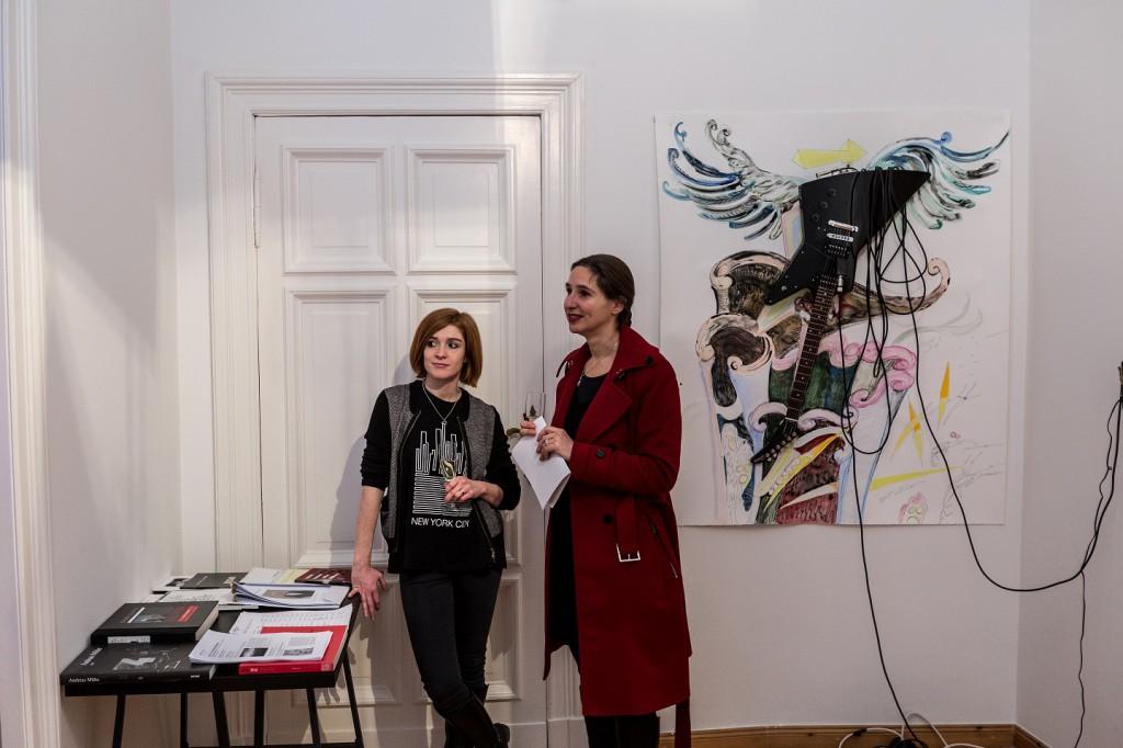 Manon Awst (Awst & Walter), Anna Louisa Karsch (LIA - Leipziger Internationales Atelierprogramm )