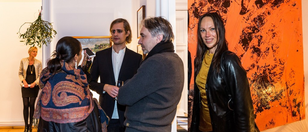 Ute Weingarten, Safia Dickersbach (ArtFacts), Boris Pofalla (faz), Vadim Zakharov, Marianna Uutinen