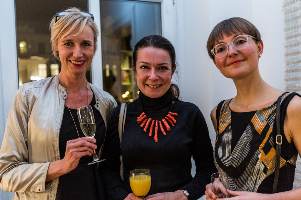 Ute Weingarten, Nadja Bartels (Tchoban Foundation), Nike Sohrauer (ARTPRESS)