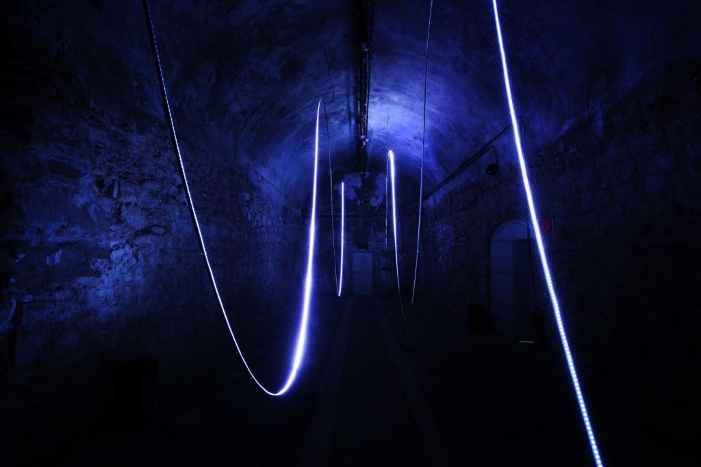 The Weight of Light by A.Muxel und M. Hesselmeier..Foto_Frank Vinken. Copyright_Zentrum fuer internationale Lichtkunst