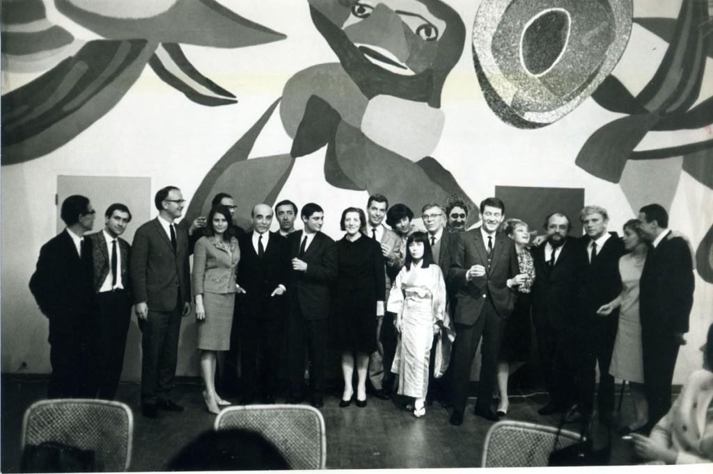 Opening Nul65 exhibition, Stedelijk Museum Amsterdam. 1965