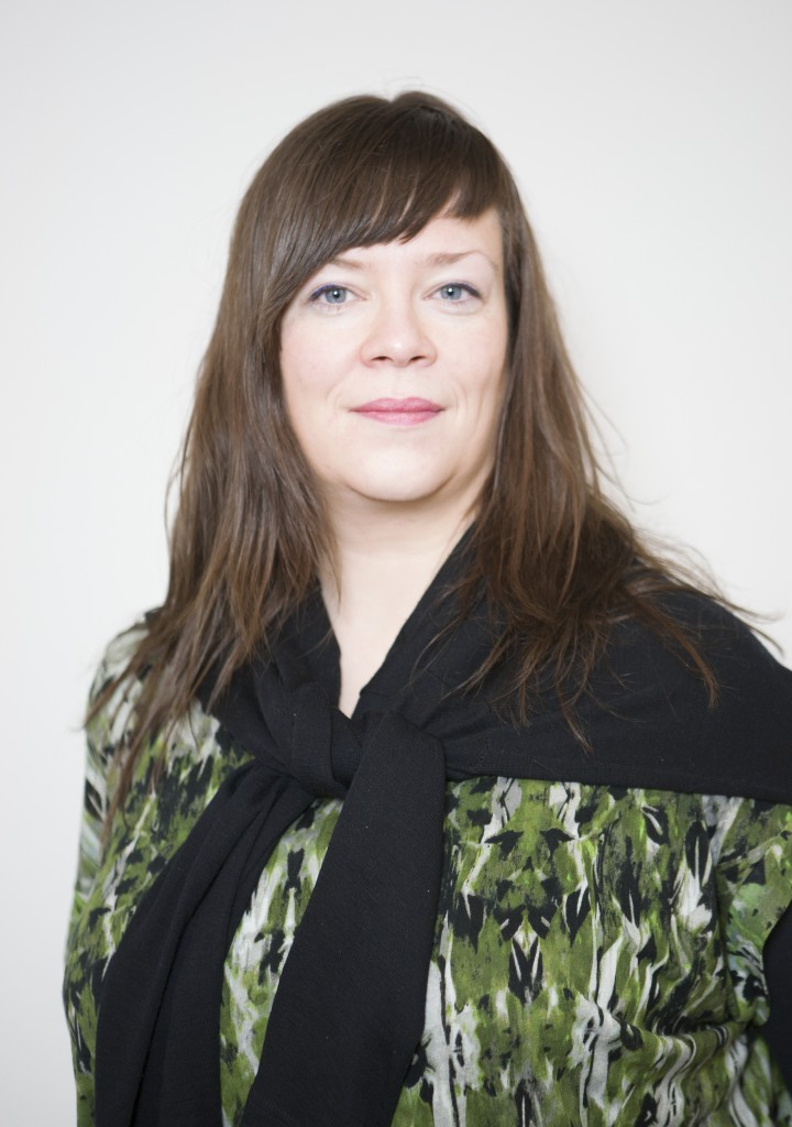 Curator and Artist Birta Gudjonsdottir, Photo: Sigurdur Gunnarsson