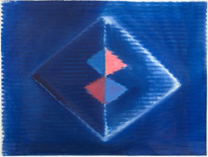 Heinz Mack, West-Östlicher Divan, Ohne Titel, 1999, Pastell und Öl, 70 x 53 cm, © Archiv Mack, VG Bild-Kunst, Bonn, 2015