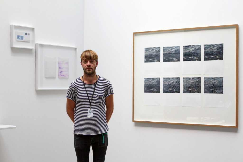 Mikko Rikala at Art Berlin Contemporary 2015. Photo: DONE STUDIO - Ulf Saupe