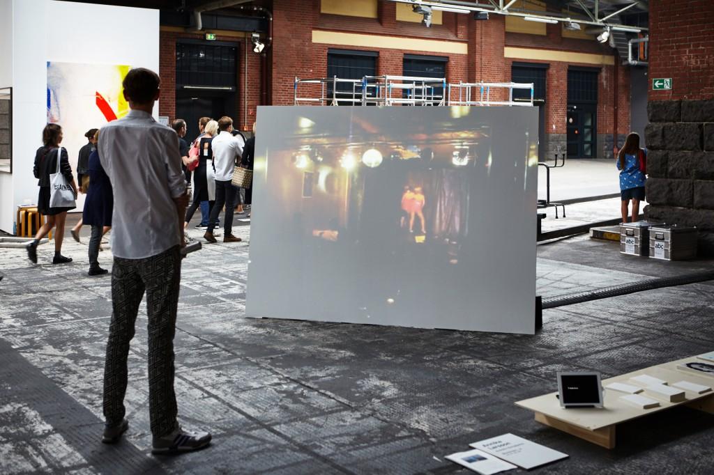 Annika Larsson at ABC Berlin 2015 | Installation View | Photo: DONE STUDIO - Ulf Saupe