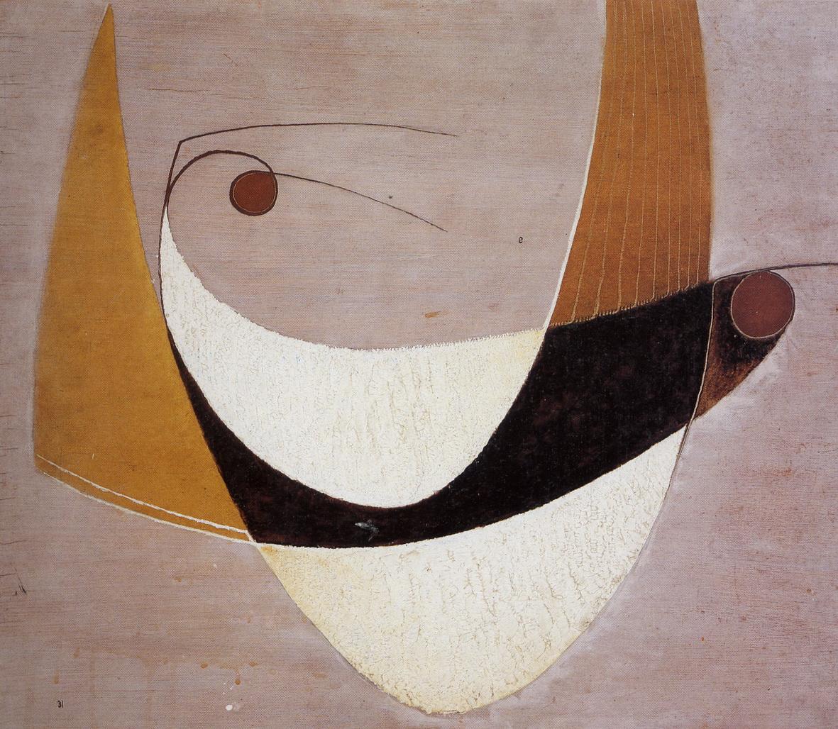 Alfred Ehrhardt, Ohne Titel (Vogelpaar), 1931 © Alfred Ehrhardt Stiftung [MAL-0007]