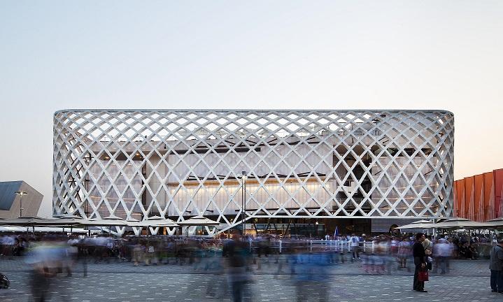 • Französischer Pavillon für die Expo in Shanghai -2010