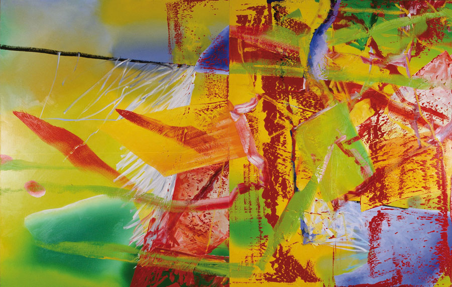 Gerhard Richter. Rot, 1982, Öl auf Leinwand / Oil on canvas, 260 x 400 cm Courtesy Sammlung Hoffmann, Berlin