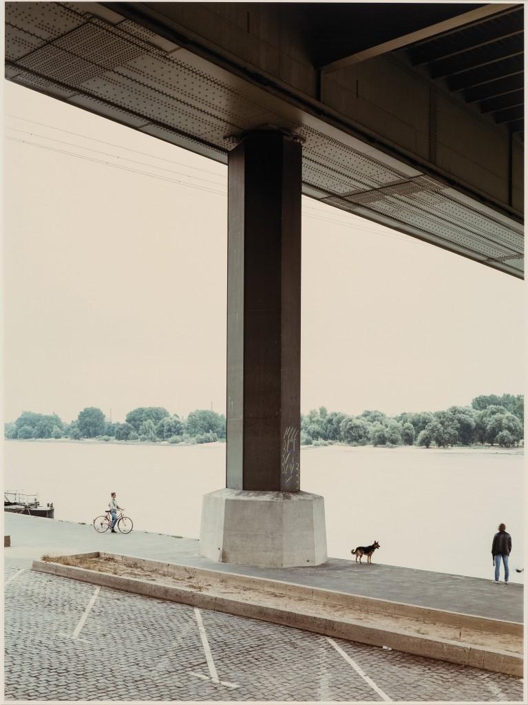 Andreas  Gursky, Zoobrücke,  1988, Photograph 10/12,  120 x 80 cm © Andreas Gursky / VG  Bild-Kunst, Bonn,  Courtesy: Sprüth Magers  Berlin London The Bayer Collection Photo: Hanne Engwald,  Leverkusen