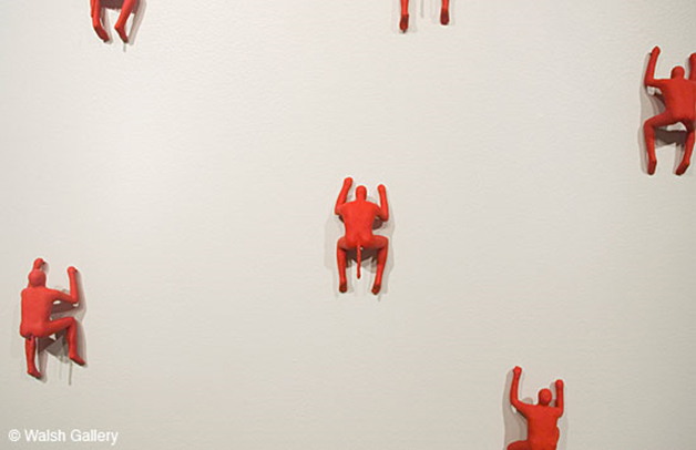 Wang Shugang, Figures, 1996, Knetmasse, 23x15x6x5 cm
