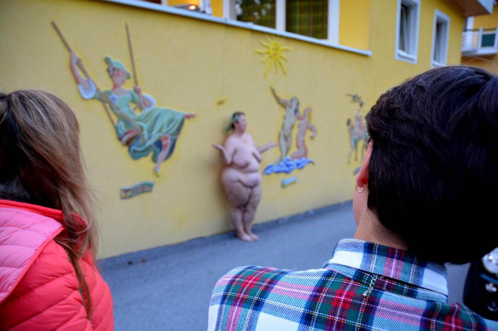 Julischka Stengele Sehenswürdigkeiten. Ansichten von Anger Foto: Chri Strassegger 2014