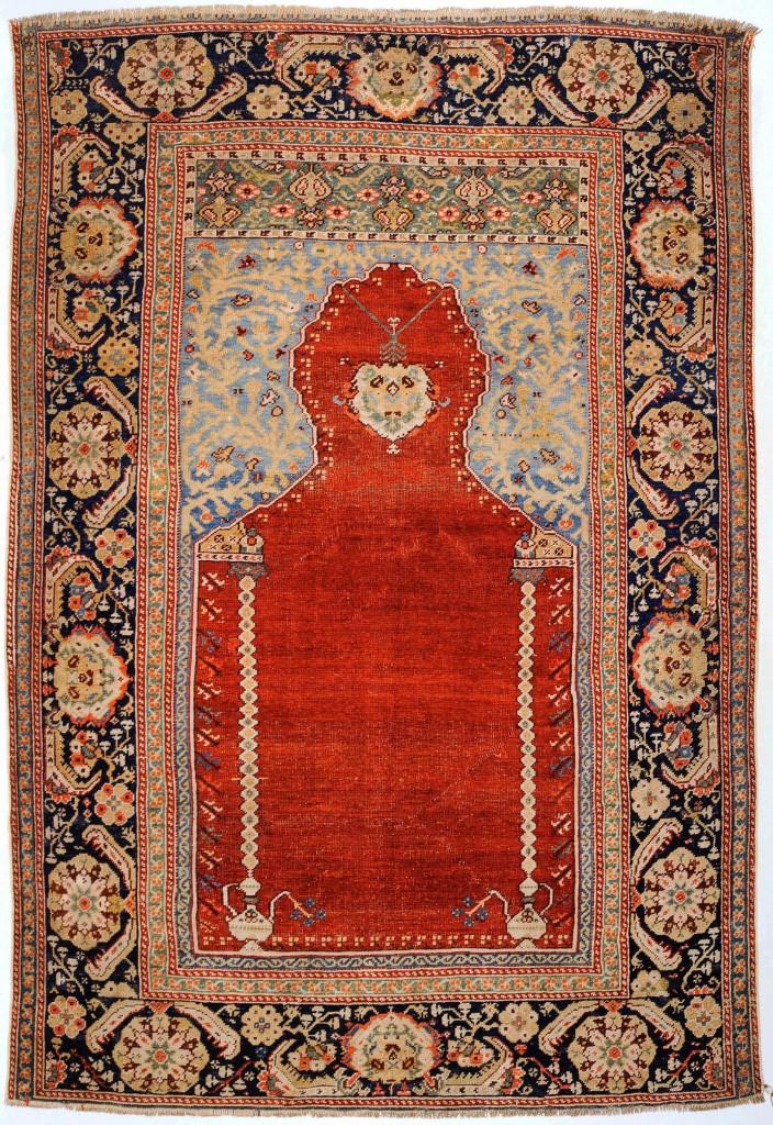 Gördes oder Kula  (Siebenbürger) Knüpfteppich  174 x 120 cm  18. Jahrhundert  1483 Knoten/dm²  © Martin Posth Collection