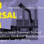 A true Bauhaus gem: the founders Holger Friese and Renske Janssen talk about the International Summer School Bernau