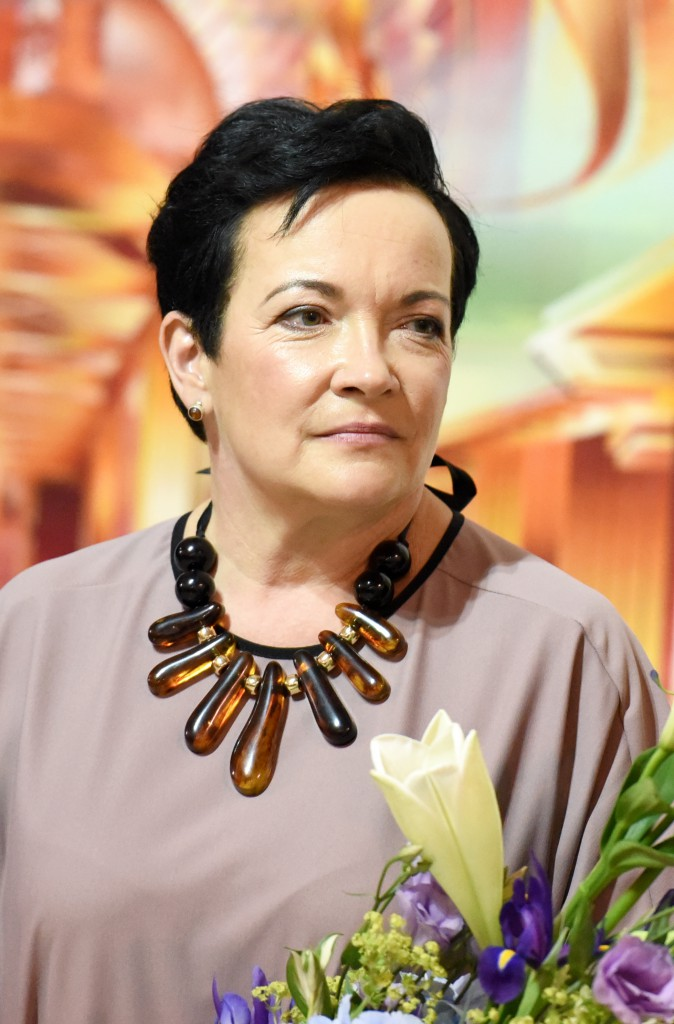 Astrīda Rogule, Senior Curator of ARSENĀLS exhibition halls ,Credits: Ieva Lūka