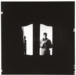 ARTPRESS Ute Weingarten: Lothar Wolleh, Selbstporträt, 1960er © Oliver Wolleh